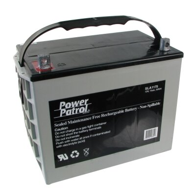 Interstate Battery 12 Volt 75 Amp Sealed Lead Acid Battery
