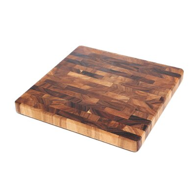 Square End Grain Chef's Board