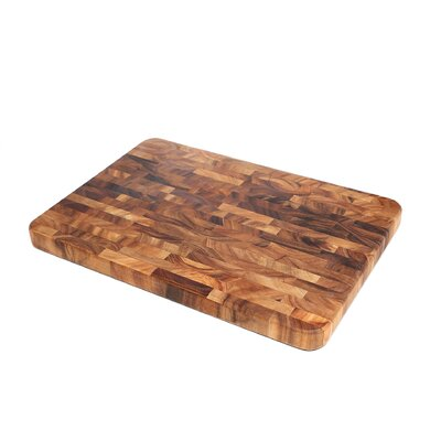 <strong>Ironwood Gourmet</strong> Large End Grain Prep Board