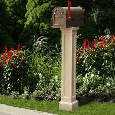 Mayne Inc. Bradford Mailbox Post