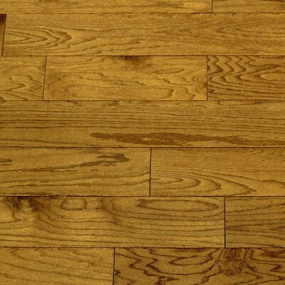 "Forest Valley Flooring Dakota II 5-1/2"" Smooth Engineered Red Oak Flooring in Saddle"