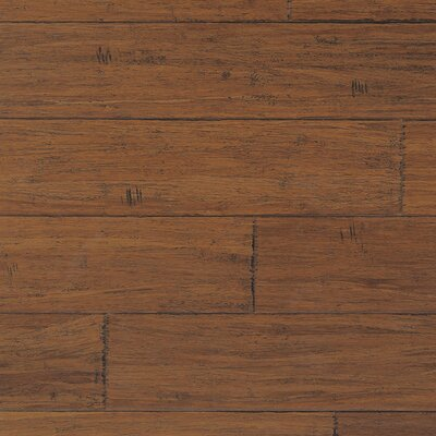 "CFS Flooring Strand Woven 5-1/5"" Solid Bamboo Flooring in Demode Java"