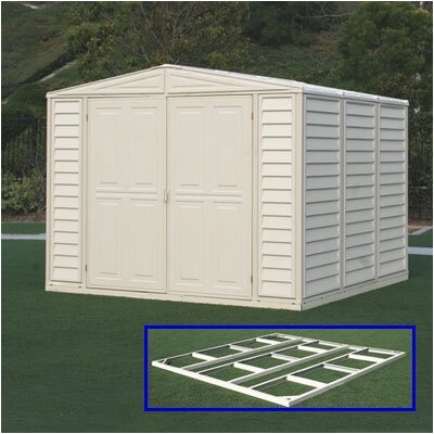 Duramax Building Products DuraMate Vinyl Storage Shed