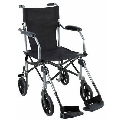 "SkyMed Easy Go 19"" Ultra Lightweight Transport Standard Wheelchair"