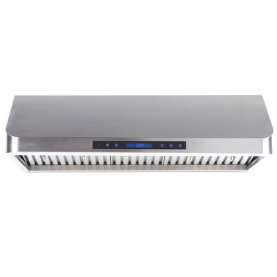 "Cavaliere 30"" 385 - 900 CFM Stainless Steel Under Cabinet Mount Range Hood with Adjustable Airflow"