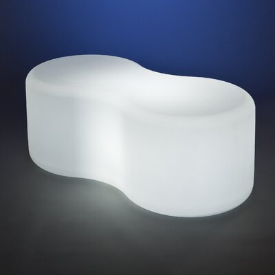 Rotoluxe Infinity Recycled Plastic Bench