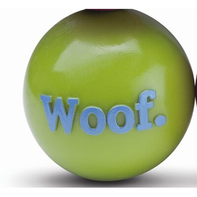 Planet Dog Orbee-Tuff Woof Ball Dog Toy in Green