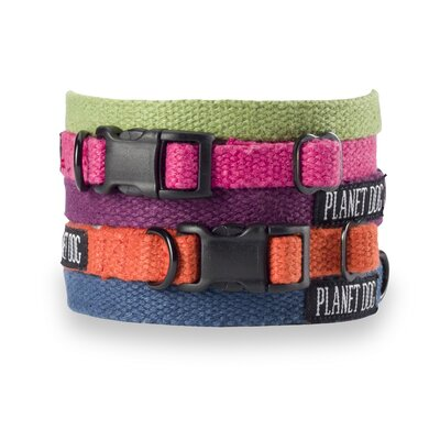 Small Hemp Dog Collar