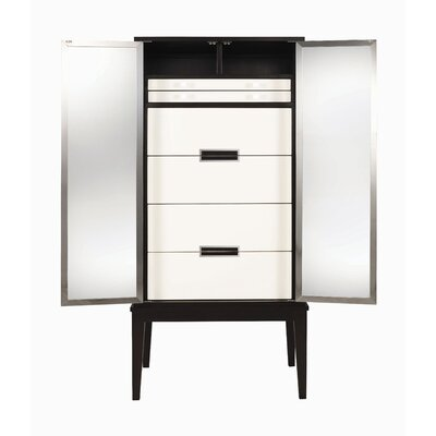 Belle Meade Signature Modern Glamour Raquel 2 Drawer Lingerie Chest