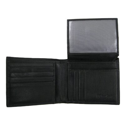 Style N Craft Bifold Passcase Wallet in Soft High Grade Cow Leather