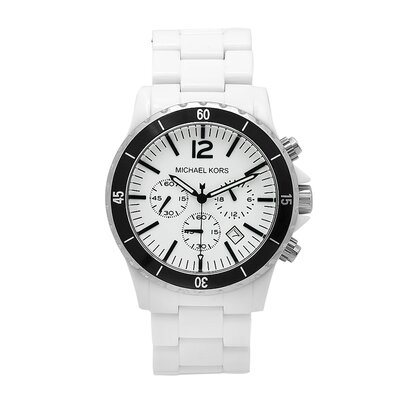 Men's White Acrylic Watch