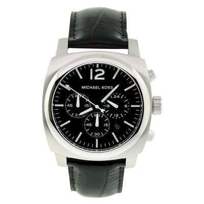 Michael Kors Men's Classic Watch with Black Men's Classic Watch with Black Chronograph