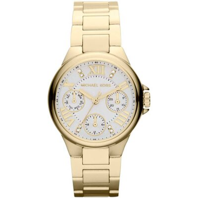 Michael Kors Camille Women's Diamonds on Hour Markers Watch