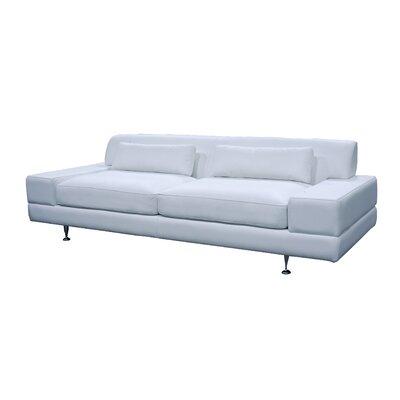 Domicile Flat Leather Sofa
