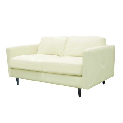 Domicile Studio Leather Loveseat