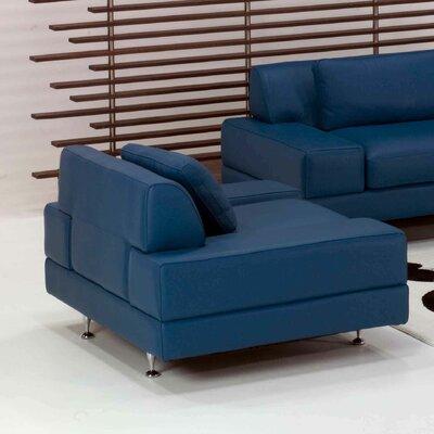 Star International Flat Leather Chair