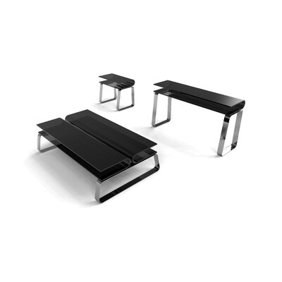 Star International Krystal Volare Coffee Table Set