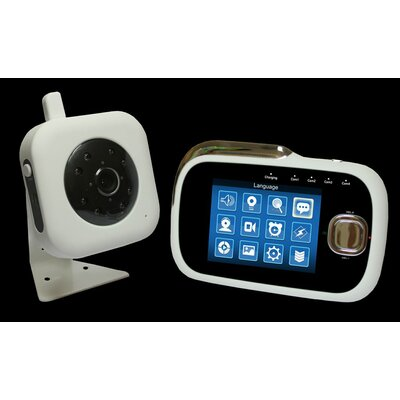 Parent Units Wireless Digital Video Capture Baby Monitor