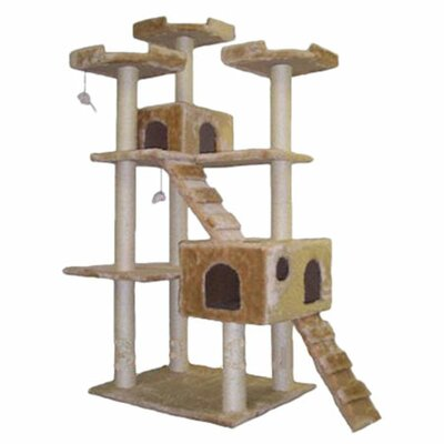 "<strong>Go Pet Club</strong> 72"" Cat Tree"