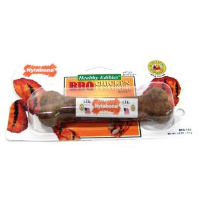 Nylabone Bone with Vitamins Dog Chew Toy - Chicken Flavor (2 Pack)