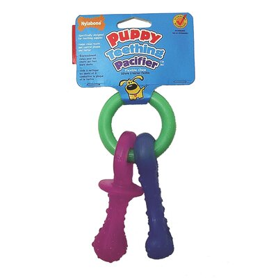 Puppy Teething Pacifier Dog Chew Toy