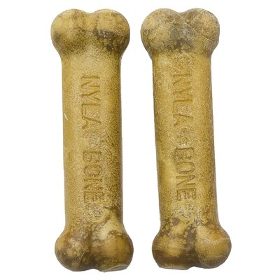 Nylabone Extra Small Roast Beef Daily Heath Bone Dog Treat (2-Pack)