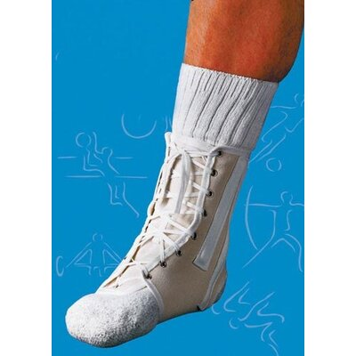Scott Specialties Lace-Up Canvas Ankle Splint