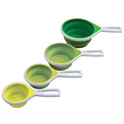 Chef'N Vibe 4 Piece Collapsible Measuring Cup Set