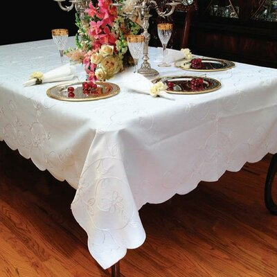 Dublin Embroidered Design Oblong / Rectangle Tablecloth