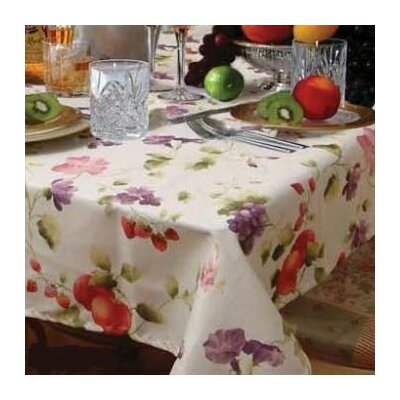 European Fruit Tablecloth