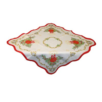 Seasonal Candles Tablecloth