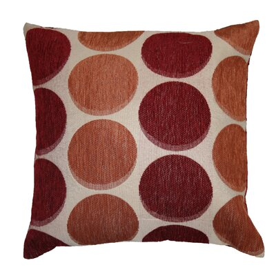 Deluxe Chenille Jacquard Circle's Decorative Throw Pillow
