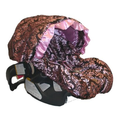 Baby Bella Maya Pink Champagne Infant Carseat Cover