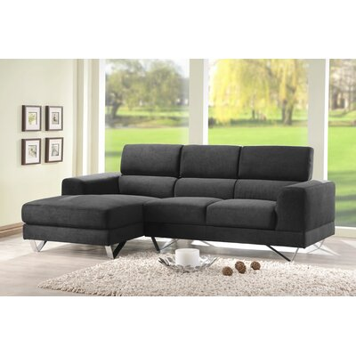 DG Casa Camden Sectional Sofa with Left Facing Chaise