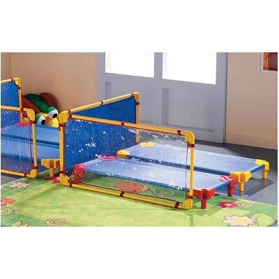 Wesco Partition with Fabric Panel with Optional Clips and Feet