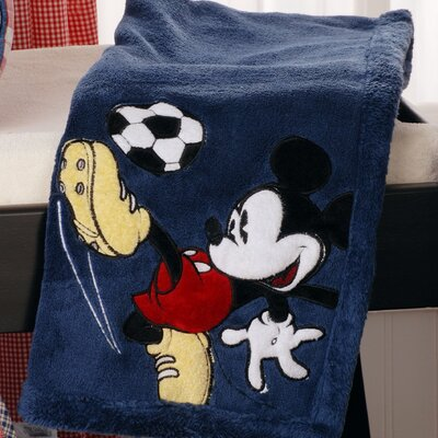 Disney Baby Bedding Vintage Mickey Boa Blanket