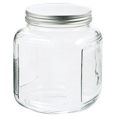 Anchor Hocking 1 Gal Clear Glass Cracker Jar