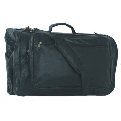 Mercury Luggage Highland II Series Tri-Fold Black Garment Bag