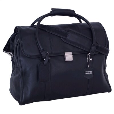 Mercury Luggage Sondrio Leather Travel Satchel