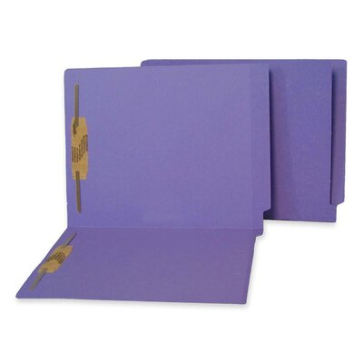 S J Paper End Tab Folder (50 Per Box)