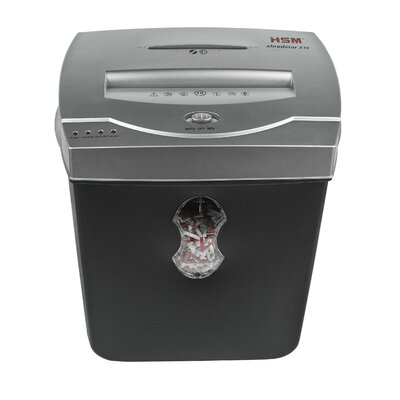 HSM of America,LLC HSM shredstar X10, 10 sheet Cross Cut, 5.5 Gallon Capacity