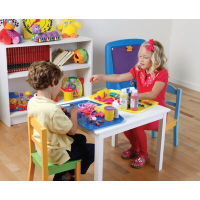 Argee Corporation Kid's Plastic Placemats and Craft Mats (Set of 4)