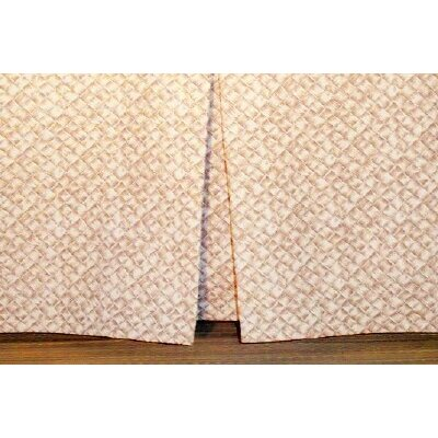 Basketweave Tailored Bed Skirt