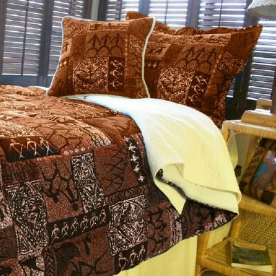 Hanalei Home Tiki by Hanalei Home Coco Duvet Cover Collection