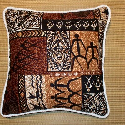 Hanalei Home Tiki Coco Pillow