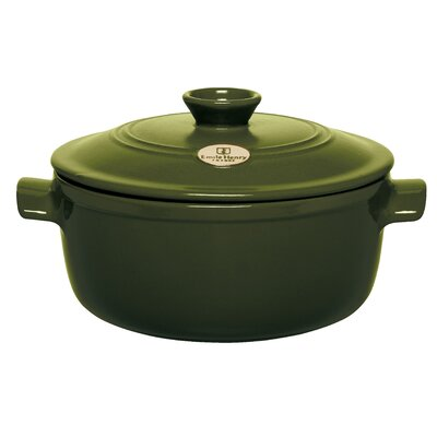 Emile Henry Red 4.2-qt. Ceramic Round Dutch Oven