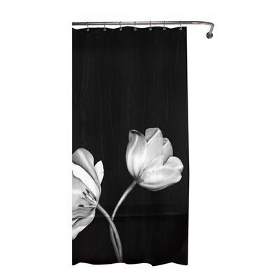 Tulip Photoreal PEVA Vinyl Shower Curtain