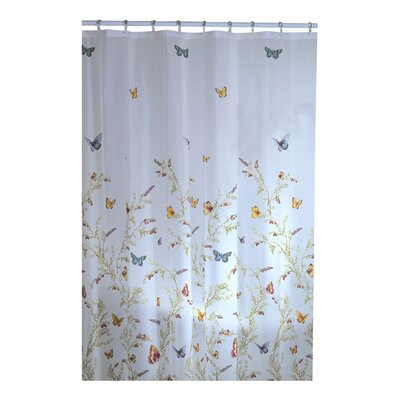 maytex garden flight vinyl shower curtain reviews wayfair