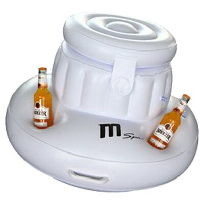 Inflatable Ice Box and Cup Holder