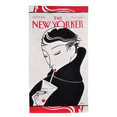Home Source International Conde Nast Drinking Girl Beach Towel